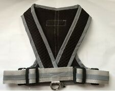 Precision Fit Step in Dog Harness - My Canine Kids - Black Mesh choose size