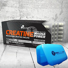 OLIMP Creatine magna power 1100 mg Magnesium Creatine Chelate  U.S. PATENT
