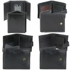 Mens Quality Soft Leather Wallet - 4 Styles
