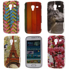 Picture Flower Animal New Hard Back Cover Case for Samsung Galaxy Ace 2 GT-I8160