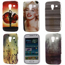 Girls Landscape Beauty Hard Back Cover Case for Samsung Galaxy Ace 2 GT I8160
