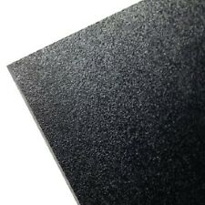 "BLACK KYDEX PLASTIC SHEET .028 ""  YOU PICK SIZE THIS IS T(VIRGIN) NOT RECYCLED V"