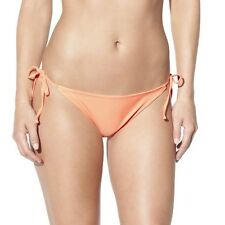 Xhilaration® Junior's Mix and Match Side Tie Swim Bottom -Creamsicle