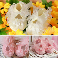 Hot New Girl on-Slip Newborn Shoes Baby Toddler cloth Shoes With Lace Pink