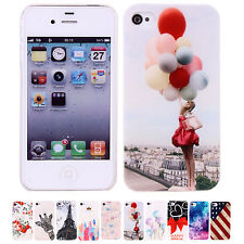 2014 Cheapest Cute 1pc Protective Hard Back Case Cover For Apple iPhone 4/4S