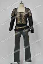 Farscape Chiana Fancy Artificial Leather Outfit Halloween Cosplay Costume Suit