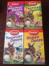 Small animal treats:Wild Berry/Tropical/Yoghurt/Honey.Hamsters,Rabbits,Guineapig
