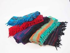 NEW WOVEN SHAWL/BLANKET/WRAP CASHMELON FROM INDIA VERY LARGE SIZE FREE POSTAGE
