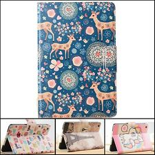 Cute Printing Pattern Cover PU Leather Stand Smart Case For iPad Mini 1  Mini 2