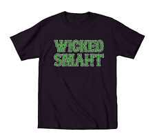 Wicked Smaht Funny Irish Boston St. Patty's Party Beer Drinking Mens T-Shirt