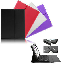 Bluetooth Wireless Keyboard Keypad PU Leather Stand Case Cover for iPad 2 3 4