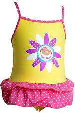 Girls In The Night Garden Upsy Daisy Swimsuit Pink Spot Yellow 1 - 3 yrs