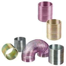 2 inch Metal Mini Slinky Type Spring Toy Fidget Toy Party Favors