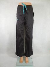 Med Couture Signature Scrub Pant. Style 8705.Charcoal/Aruba Blue.*NEW* Free Ship