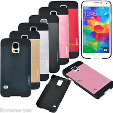 Ultra Thin Brushed Metal Aluminum Case Cover For Samsung Galaxy S4 S5 Note 2 3