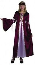Girls Tudor Medieval Renaissance Princess Fancy Dress Costume - CC543