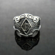 TheBikerMetal Stainless Steel 1% ER Classis Ring for Harley Outlaw Biker TR165