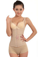 Women's Breathable Bustier Waist Training Cincher Corset Slimmers Tummy Trimmer