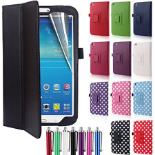 Leather Smart Case Cover for Samsung Galaxy Tab 3 8 Inch Tablet T310 T315