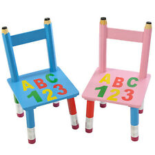 Childrens Wooden Table and Chairs Set Desk Bedroom Furniture Toy Kids Toddler