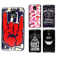 Hot Cute Printed PC Pattern Hard Case Cover Skin for Samsung Galaxy S5 G900