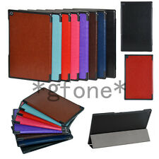 Crazy Horse Slim Folding Stand Leather Case Cover For Sony Xperia Tablet Z2 10.1