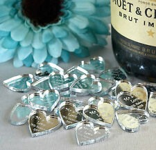 Personalised Heart Wedding Table Centerpieces Decoration Mr & Mrs Favours