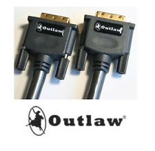 NEW Outlaw Audio PDV DVI-D Cable  Choose Meter Length  .05   1.2  1.8  3.0  5.0
