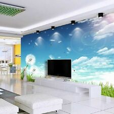 New Dandelion TV Background Wallpaper Mural Decorative Pattern Wall Painting