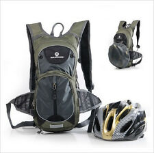 Bicycle Cycling Bike Backpack Rucksacks Riding Bag 15L Hydration Water Pack 2L