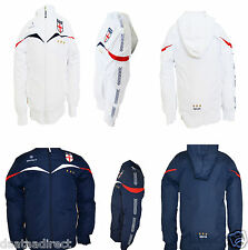 New boy/girl/ junior/kid  England jacket hoodie school,football,sport,white/blue