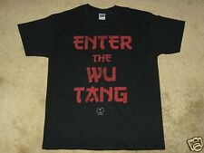 Wu-Tang Clan Enter the Wu S, M, L, XL, 2XL Black T-Shirt
