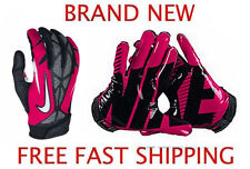 Nike Vapor Jet 2.0 Football Gloves-BRAND NEW AUTHENTIC-Pink Breast Cancer Model