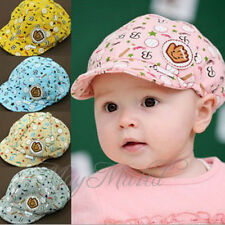 New Cute Kid Toddler Infant Boy's Baby Hat Casquette Peaked Baseball Beret Cap S