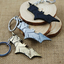 New Dark Knight Rises DC Comics Batman Logo Pewter 8.8 cm Metal Key Ring Chain