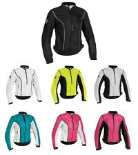 *Ships Same Day* FIRSTGEAR WOMENS CONTOUR MESH MOTORCYCLE JACKET