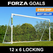 12 x 6 FORZA Football Goal (Locking Model) - The Ultimate Goal [Free Delivery]