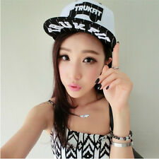Korean style Fashion blue white Cap Girl's hip-hop baseball Hat Sunshade Hats