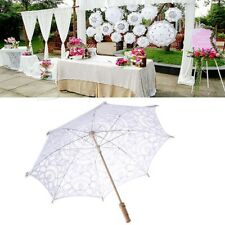 Lace Parasol Umbrella Embroidered For Bridal Wedding Decoration