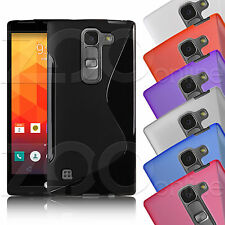 S-Line Gel Rubber Slim Case Cover Skin With Screen Protector For Your LG Phone