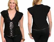 SEXY CORSET STYLE TUNIC TOP SIZE 16 18 20 22 BNWT
