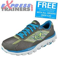 Skechers Womens Go Run Ride 2 Running Fitness Gym Trainers Charcoal *AUTHENTIC;*