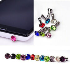 Diamond 3.5MM Anti Dust Plug Cap Stopper Cover for Cell Phones Phablet 2014 1st
