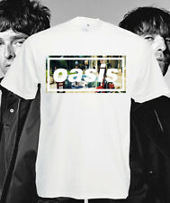 Oasis T Shirt Definitely Maybe 20 Years Tee Liam Noel Gallagher Be Here Now New
