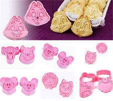 Lovely Cookie Fondant Cake Sugar Craft Chocolate Decorating Plunger Cutter Mold