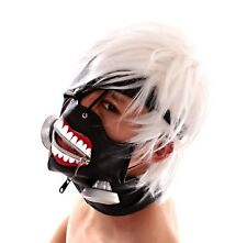 Japan Animation Tokyo Ghoul Cosplay Masks Adjustable Cos PU Mask Cool