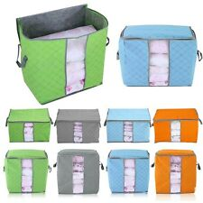 Quilt Blanket Pillow Clothes Underbed Storage Bag Box Container Non-woven Fabric