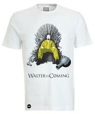 Iconic WALTER IS COMING Breaking Bad Vs Game Of Thrones Cartoon T-shirt - ICONIC