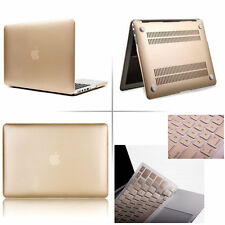Champagne Gold Rubberized case keyboard cover Macbook Pro Air Retina 11 12 13 15