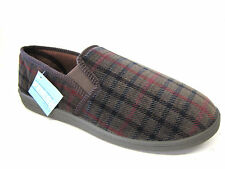 Men Clarks Slippers Key Mac Bronze Textile G Fitting